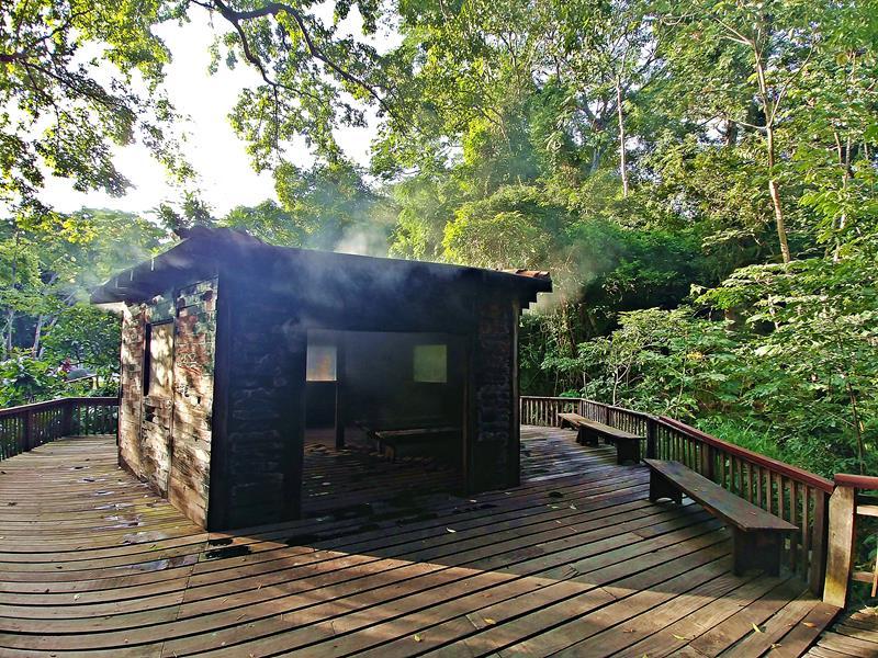 Das Borinquen Mountain Resort, eine recht alte Eco-Lodge nahe dem Rincon de la Vieja National Park