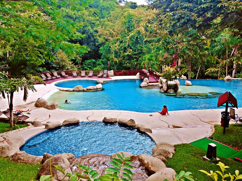 Das Borinquen Mountain Resort, eine recht alte Eco-Lodge nahe dem Rincon de la Vieja National Park