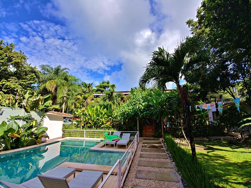 Die Villa Cacao im Surfer-Ort Santa Teresa auf der Nicoya-Halbinsel