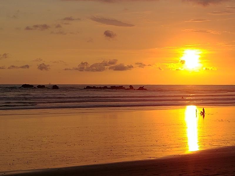 Tolle Sonnenuntergänge auf der Nicoya-Halbinsel in Costa Rica