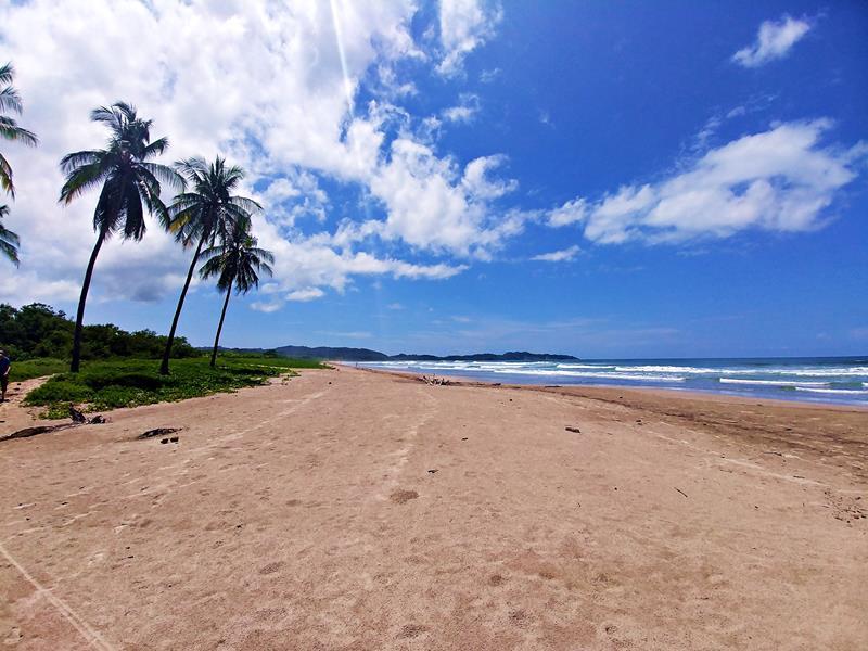 Einer der Strände von Nosara in Costa Rica, der Playa Guiones