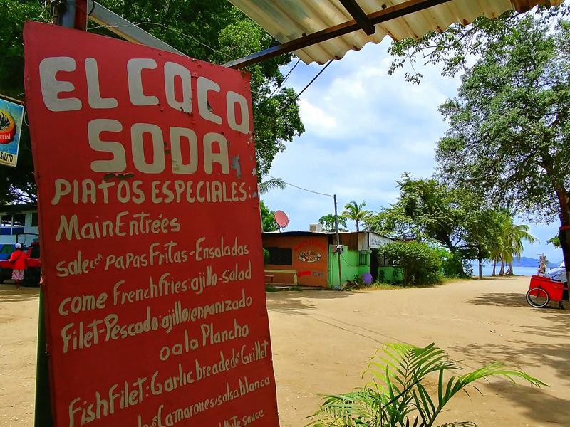 Ein Soda, ein typisches Restaurant in Costa Rica
