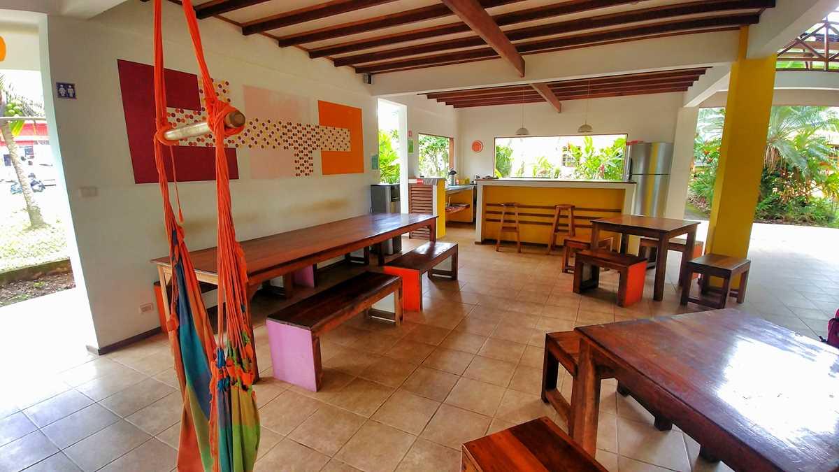 Das Pagalu Hostel in Puerto Viejo an der Karibikküste von Costa Rica