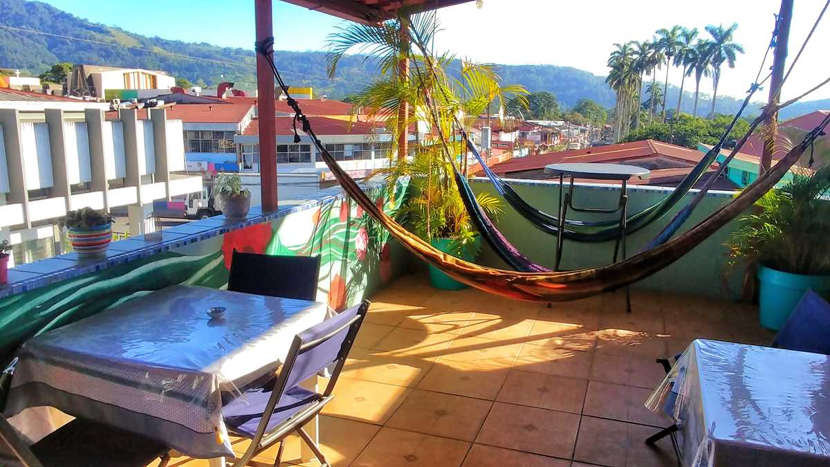 Das Hostel Casa de Lis in Turrialba in den Bergen von Costa Rica
