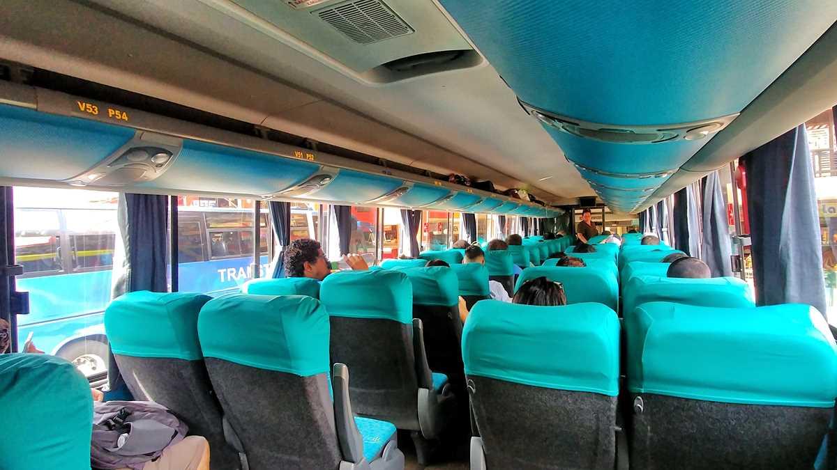 Reisen mit dem Bus durch Costa Rica
