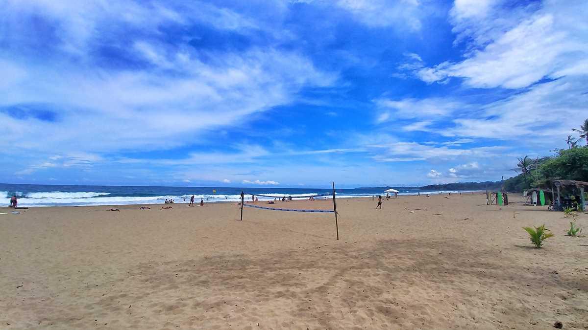 Der Playa Cocles in der Nähe von Puerto Viejo