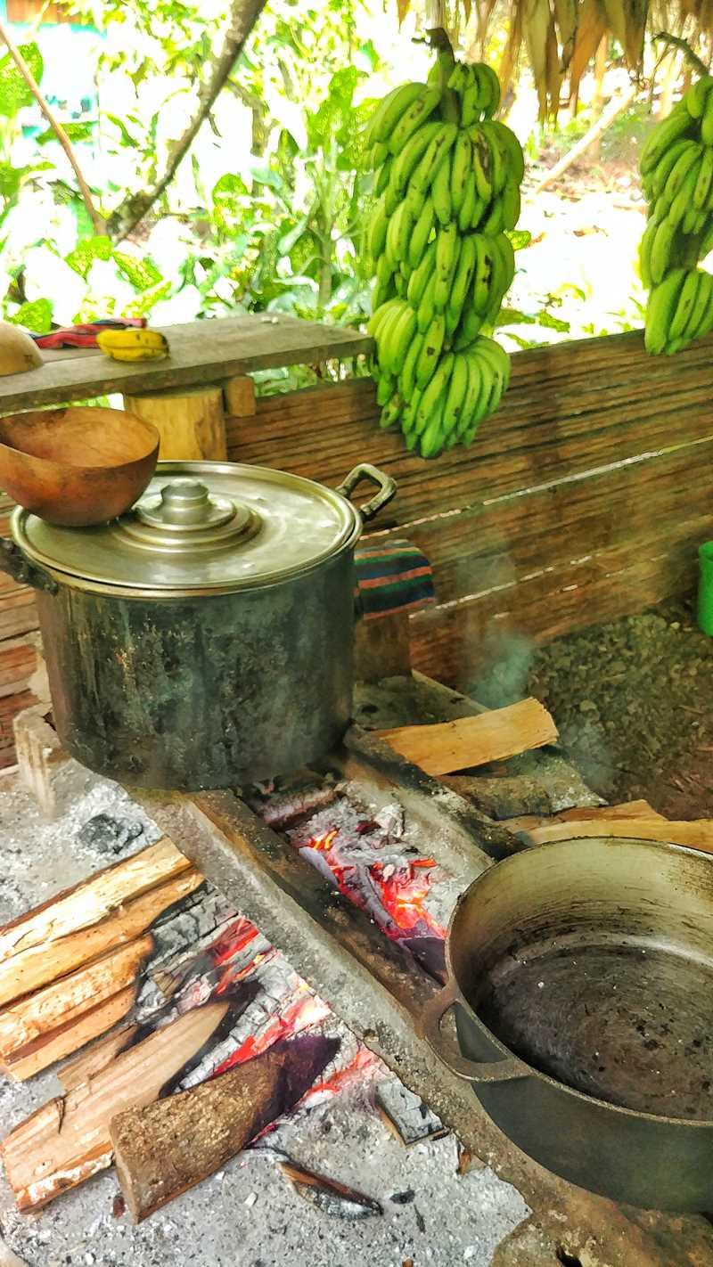 Eine spannende Tour zum Kennenlernen von Land & Leute in Uatsi in der Nähe von Bribri