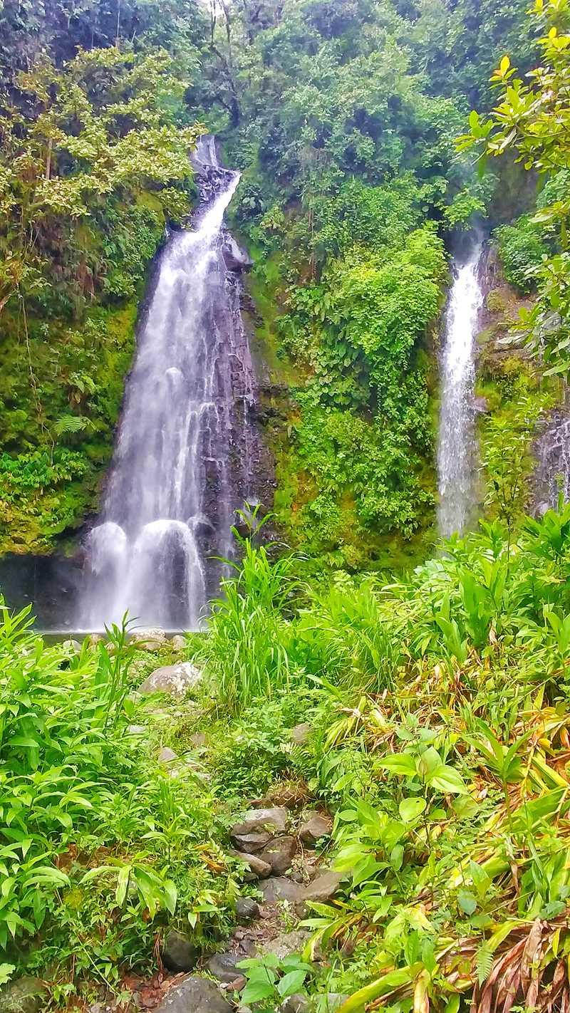 Der Wasserfall Catarata Las Trillizas in der Nähe von Turrialba