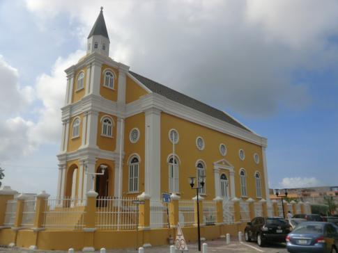 Wilhelminaplein, eine der historischsten Plätze in Willemstad und Curacao
