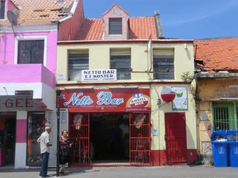Die Breedestraat in Willemstad, urtypische Straße mit Karibik-Feeling