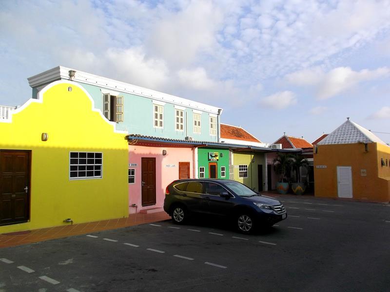 Das neue Ritz Hostel im Stadtteil Scharloo