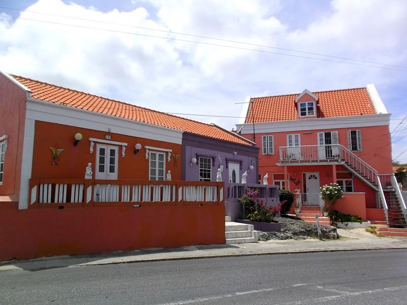 Das wunderschöne Willemstad auf der Karibik-Insel Curacao