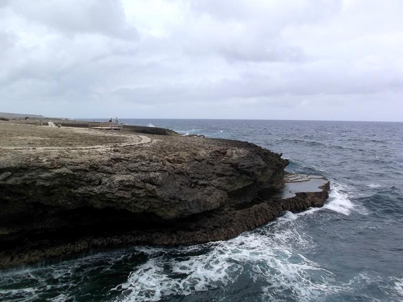 Der Shete Boka National Park im Norden von Curacao