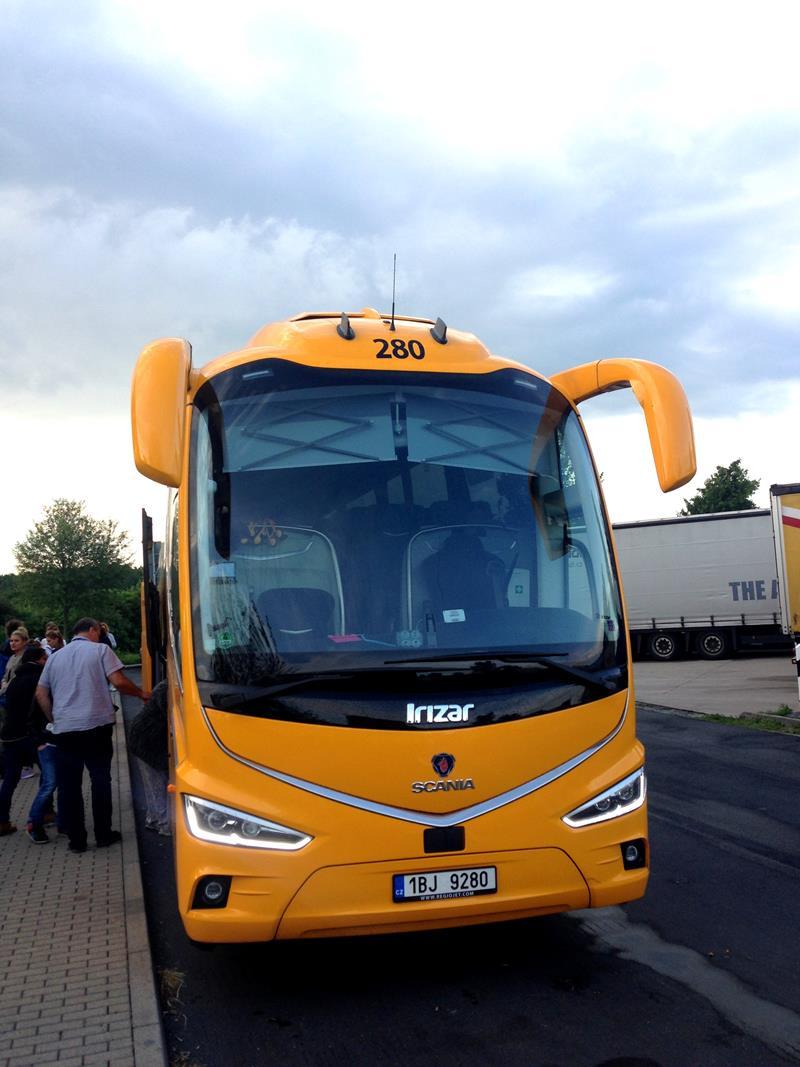 Mit dem Fernbus von Regiojet bzw. Student Agency von Berlin nach Dresden