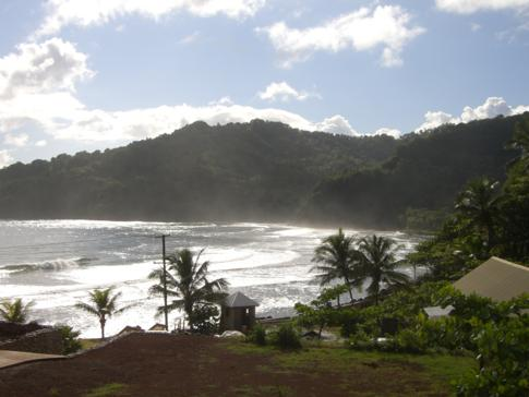 Der fantastische Meerblick vom Pagua Bay House