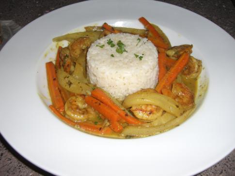 Dinner im Pagua Bay House, Marigot, Dominica