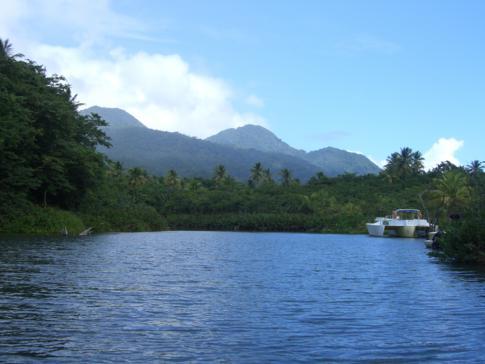 Bootsfahrt auf dem Indian River