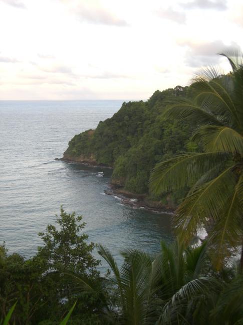Aussichtspunkt in der Nähe von Marigot