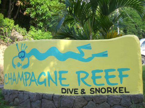 Schnorcheln am Champagne Reef