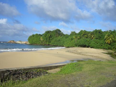 Der Woodford Hill Beach an der Ostküste von Dominica