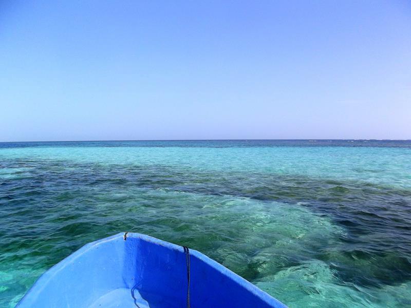 Mit dem Boot von Punta Rucia nach Cayo Arena