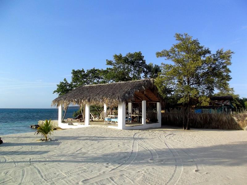 Das Cayo Arena Beach Hotel in Punta Rucia im Nordwesten der Dominikanischen Republik