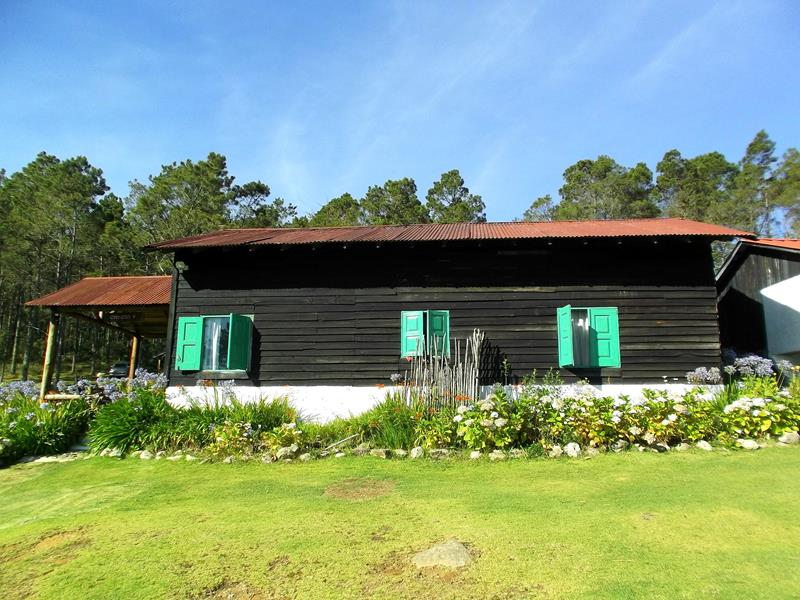 Die Villa Pajon im Parque Nacional Valle Nuevo in der Dominikanischen Republik