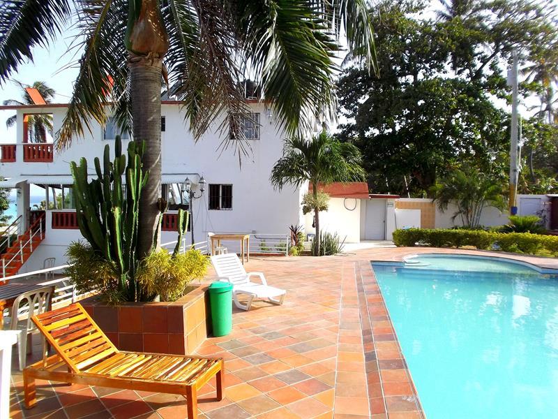 Das Hotelito Oasi Italiano in Los Patos im Südwesten der Dominikanischen Republik