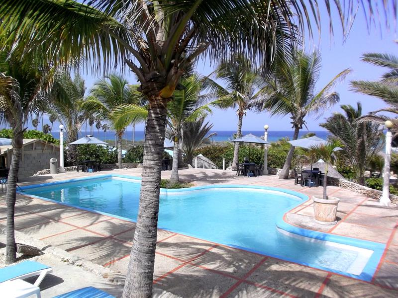 Das Hotel Playa Azul in Barahona im Südwesten der Dominikanischen Republik