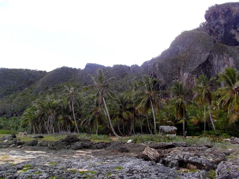 Der Boca del Diablo nahe der Playa Fronton