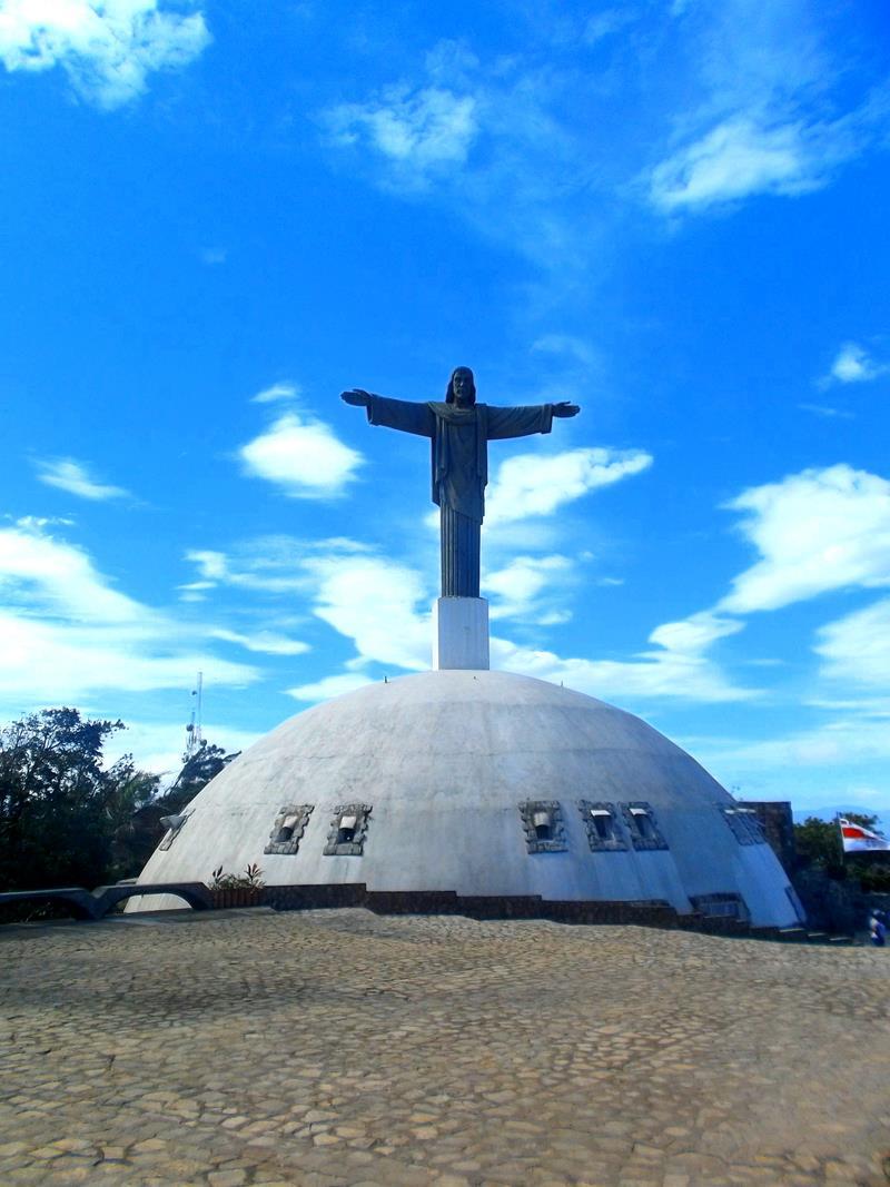 Die Statue und der Park auf dem Montana Isabel de Torres