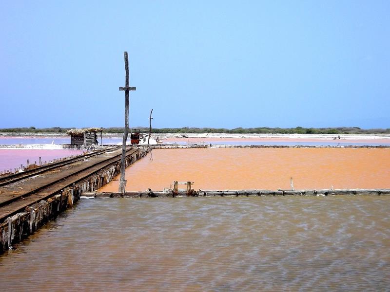 Die Salzgewinnungsanlage von Las Salinas