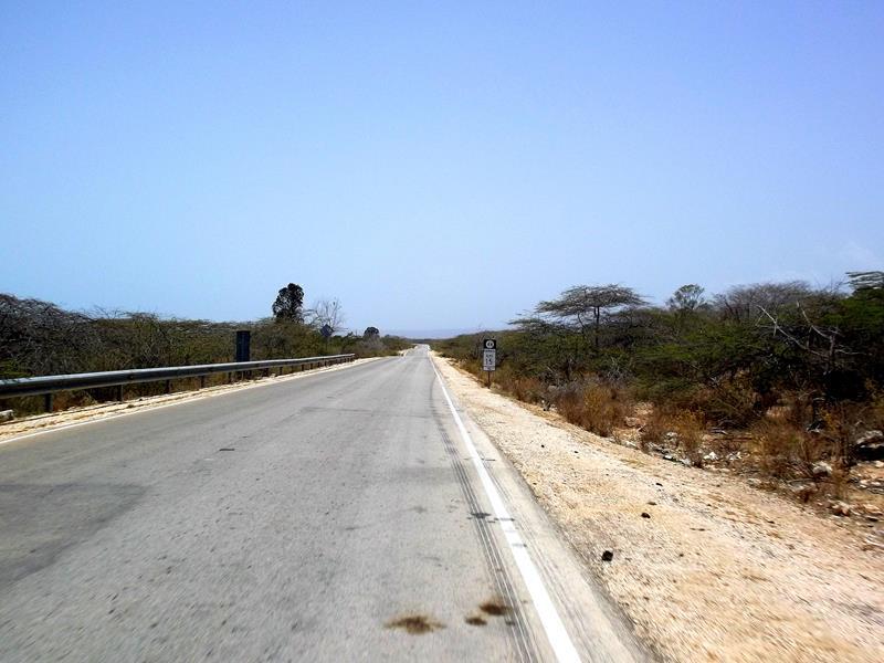 Straße zwischen Barahona und Pedernales