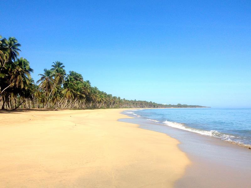 Der unberührte Playa Limon im Norden der Dominikanischen Republik