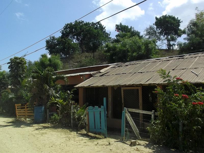 Das kleine Dorf Punta Rucia im Nordwesten der Dominikanischen Republik