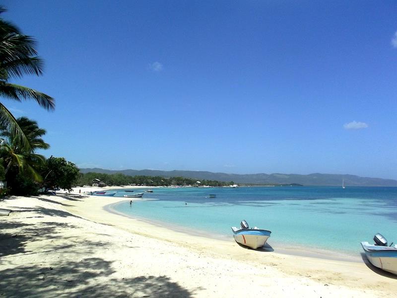 Der Traumstrand von Punta Rucia im Nordwesten der Dominikanischen Republik