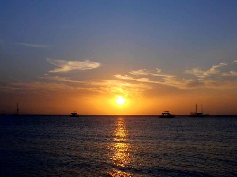 Sonnenuntergang in Punta Rucia