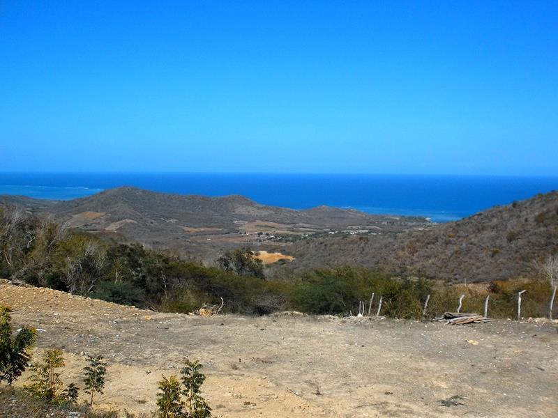 Blick auf die Nordküste von den Bergen bei Buen Hombre