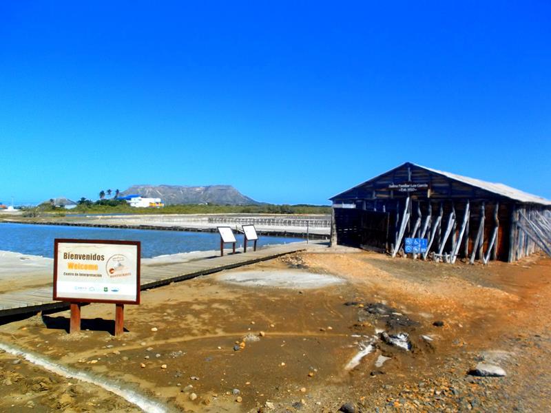 Die Salzgewinnungsanlage von Monte Cristi