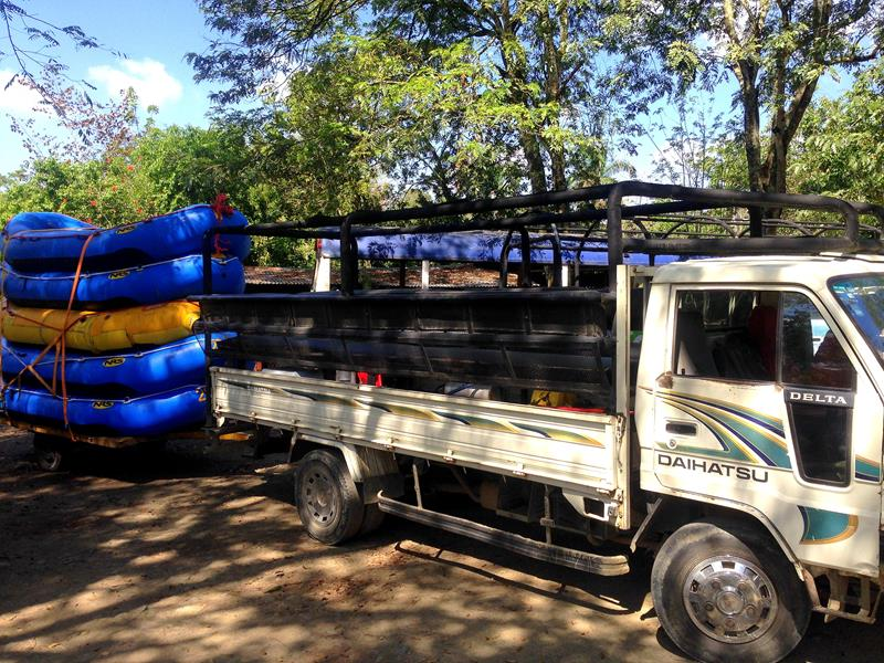 River Rafting in der Cordillera Central