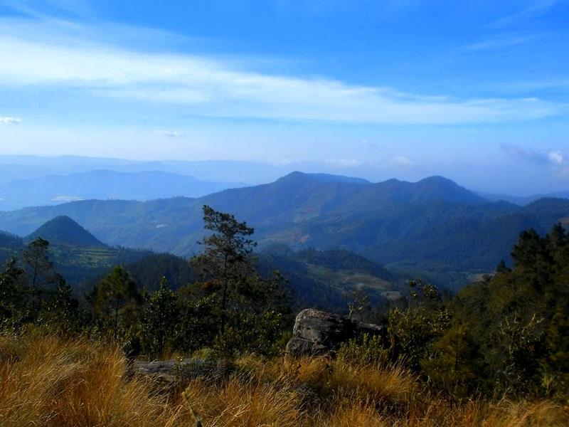 Tolle Ausblicke in der Cordillera Central
