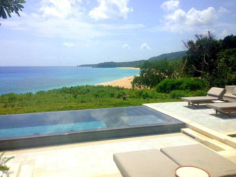 Blick auf den Playa Grande vom Amanera, dem teuersten Resort der Dominikanischen Republik