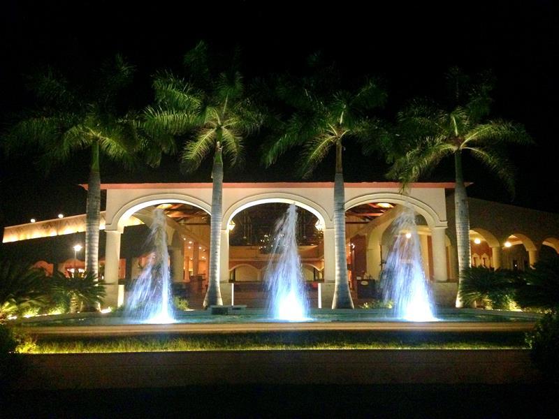 Der Eingangsbereich im Dreams Punta Cana Resort & Spa