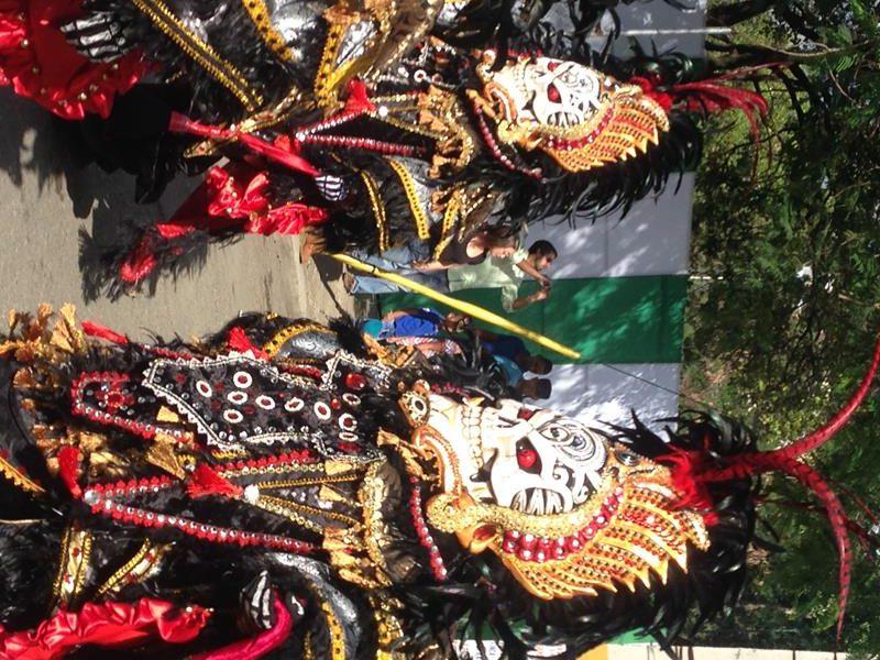 Karneval in der Dominikanischen Republik ist am intensivsten in La Vega