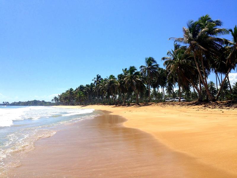 Der Playa Arroyo Salado im Norden der Dominikanischen Republik