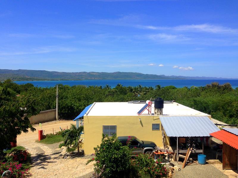 Das Gästehaus Corales in Punta Rucia im Nordwesten der Dominikanischen Republik