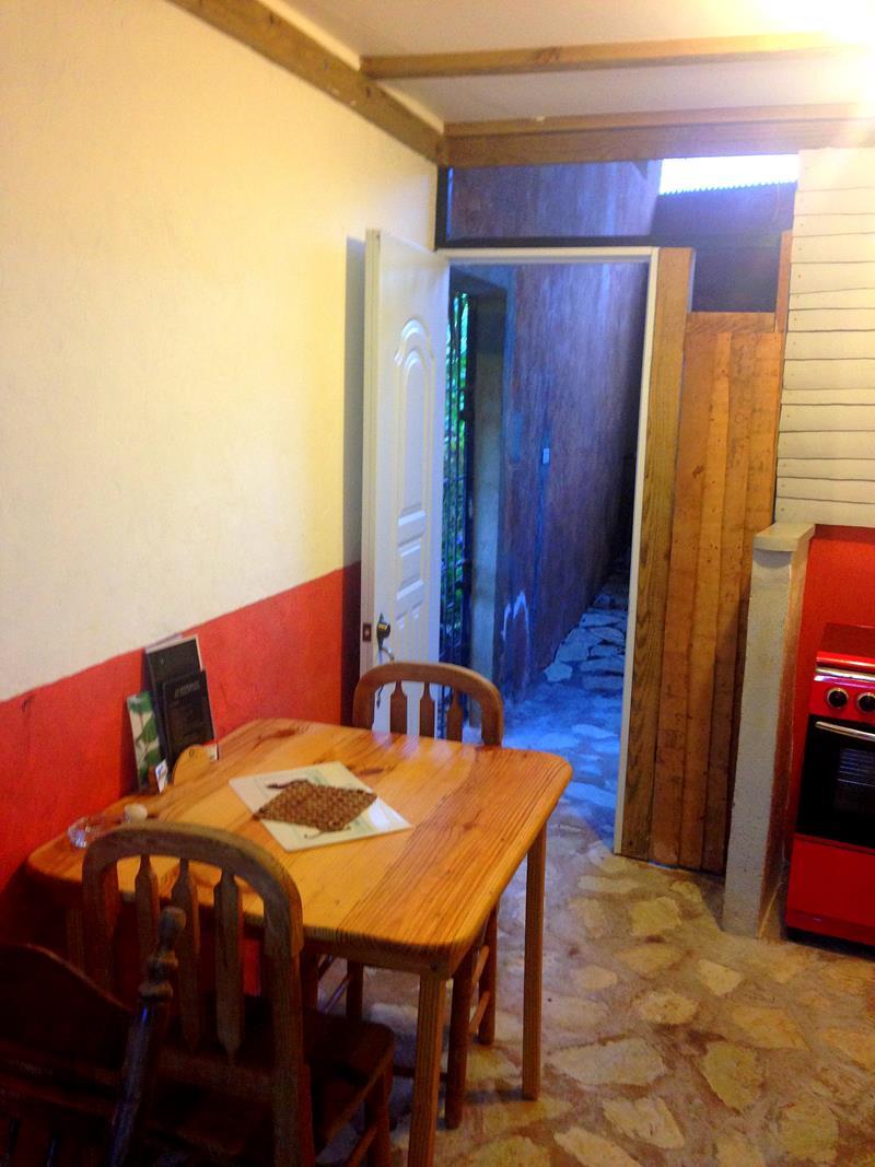 Die kleine Pension A La Bonne Franquette in Las Galeras auf Samana