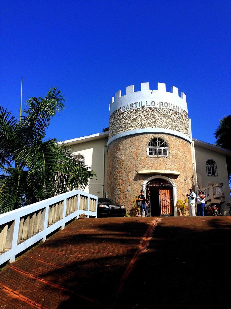 Das Castillo Romana in Las Terrenas auf der Halbinsel Samaná