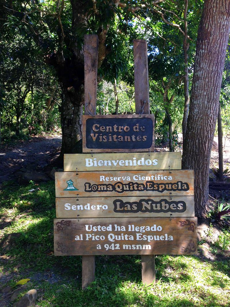 Wanderung auf den Loma Quita Espuela in der Cordillera Septentrional