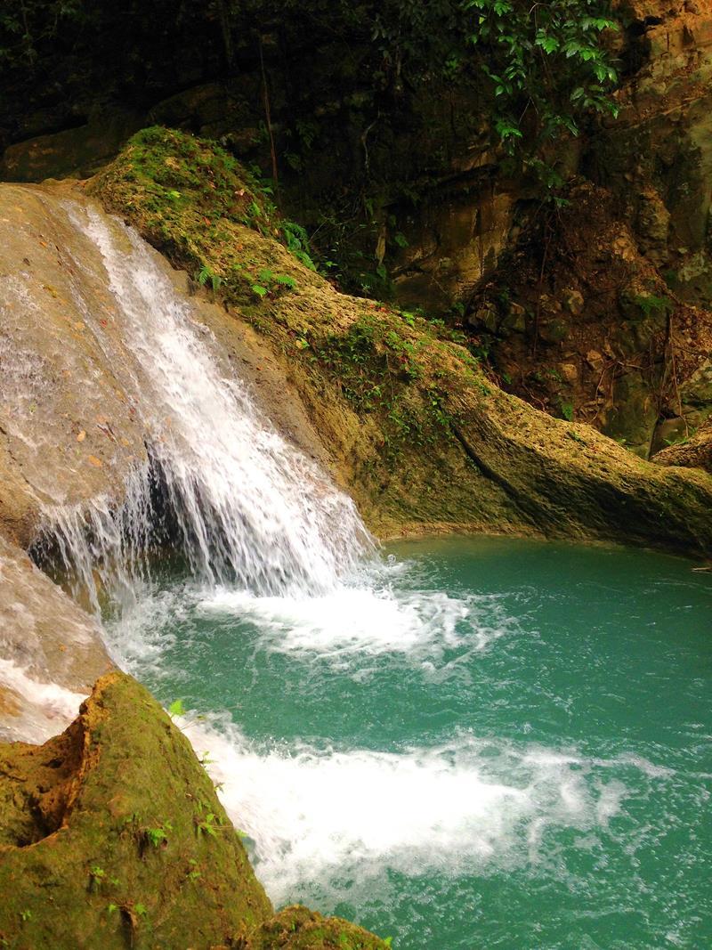 Die Charcos del Militar, eine Serie völlig unbekannter Wasserfälle in der Dominikanischen Republik